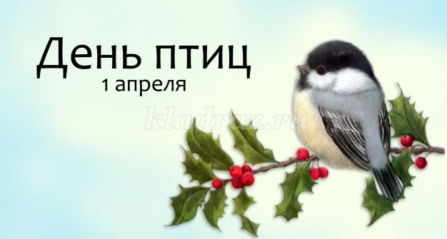 Плакат на день птиц своими руками