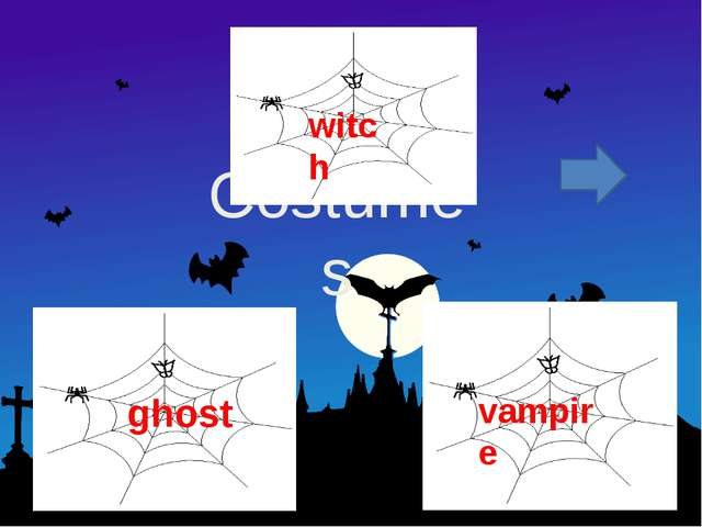 Costumes witch ghost vampire