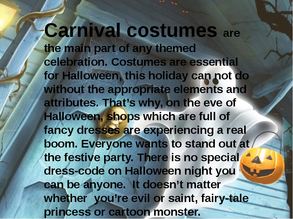Carnival costumes are the main part of any themed celebration. Costumes are e...