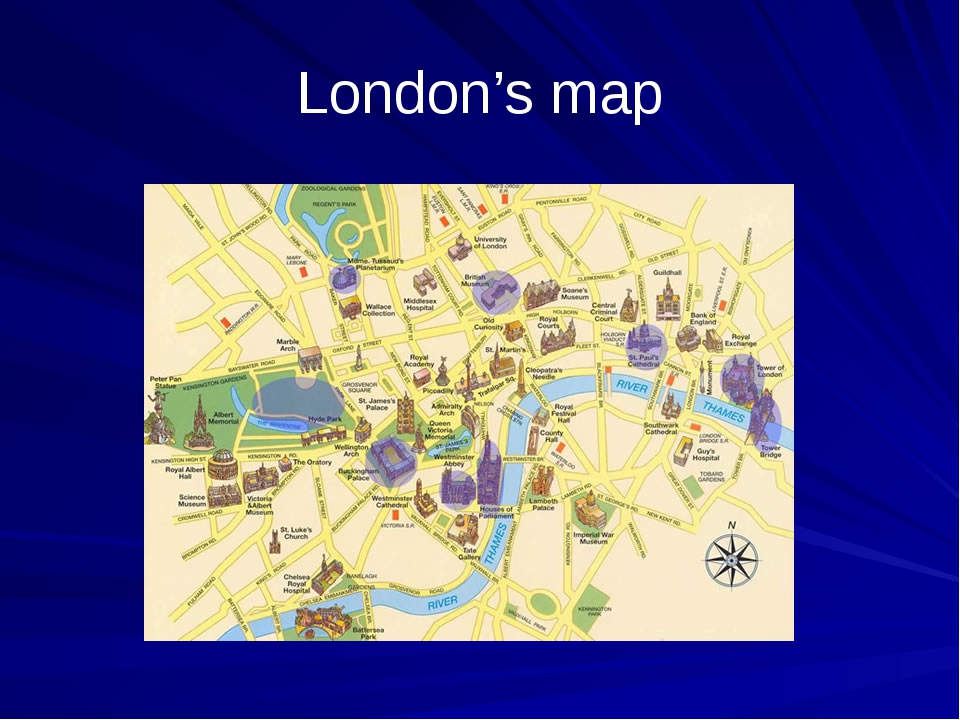London's map