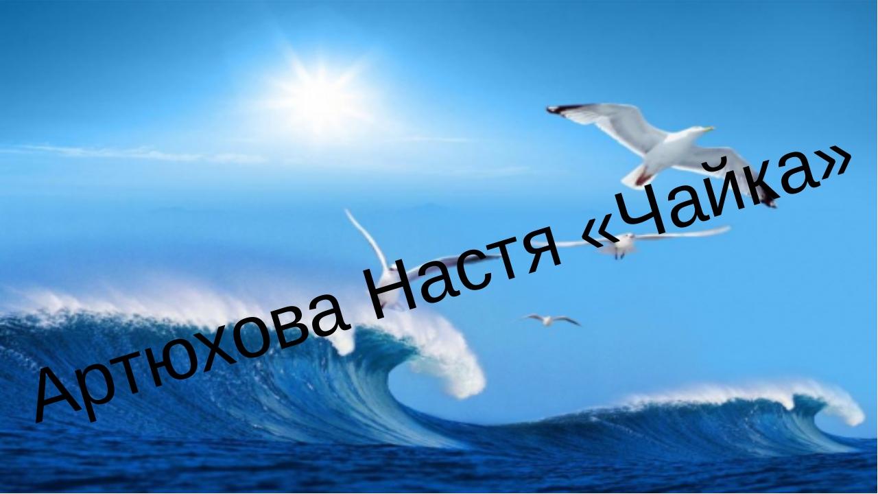 Артюхова Настя «Чайка»