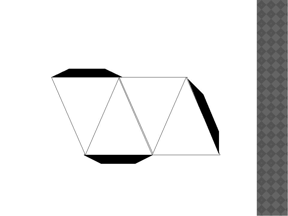 Развертка пирамиды