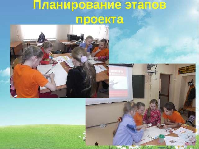 Планирование этапов проекта