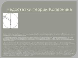 Недостатки теории Коперника Теория движения внешних планет у Коперника. S — С