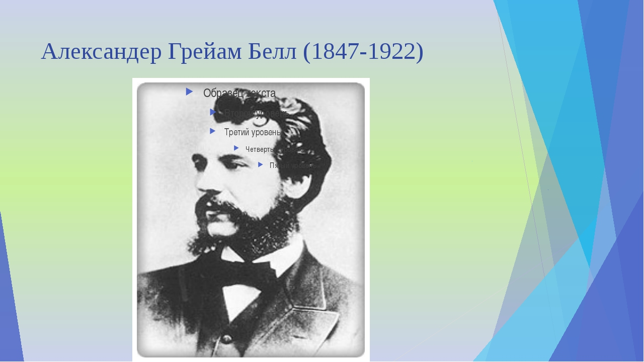 Александер Грейам Белл (1847-1922)