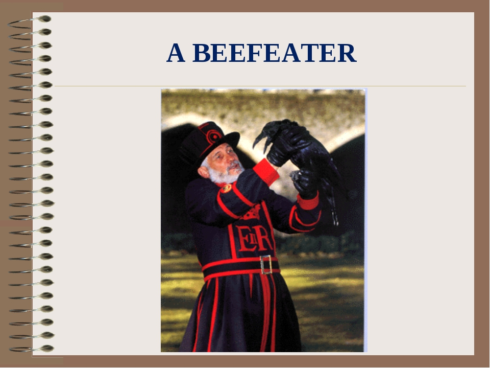 A BEEFEATER