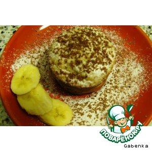 Банановые кексы, маффины с творогом