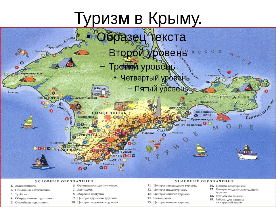 Туризм в Крыму.