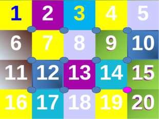 12345 678910 1112131415 1617181920
