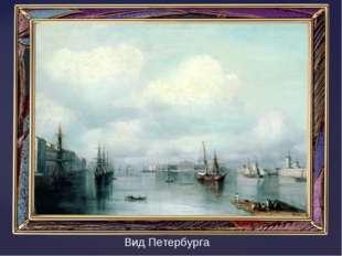 Вид Петербурга