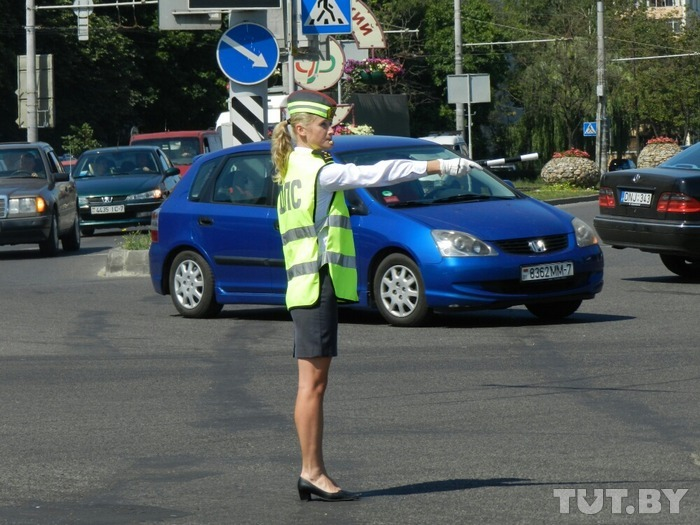 В Минске ГАИ провела конкурс регулировщиков - Новости 5min.by