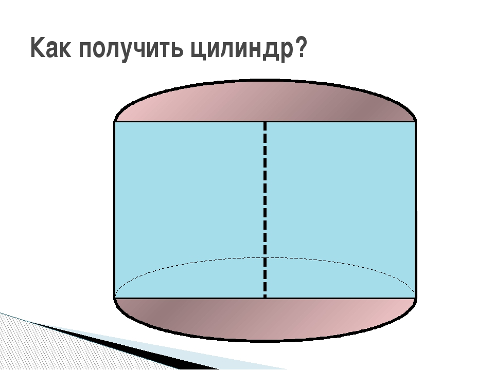 Как получить цилиндр?