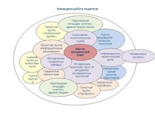 Командная работа педагогов Независимые эксперты