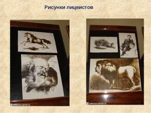 Рисунки лицеистов