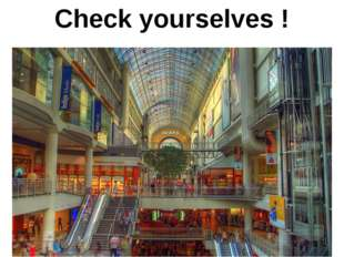 № 1 A mall is a modern, chiefly North American, term for a form of shopping c