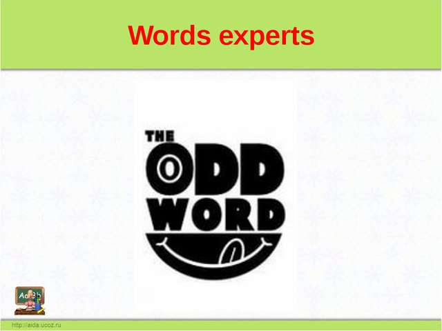 Words experts