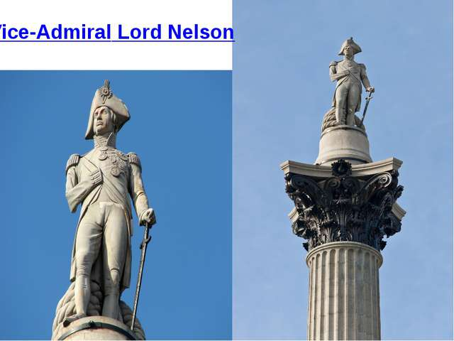 Vice-Admiral Lord Nelson