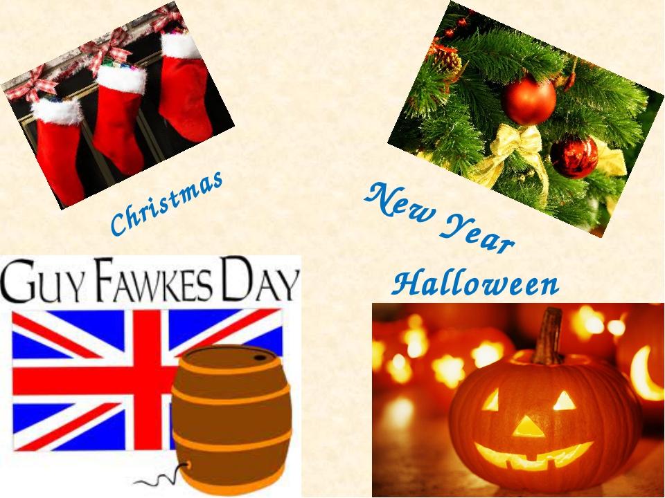 Christmas Halloween New Year