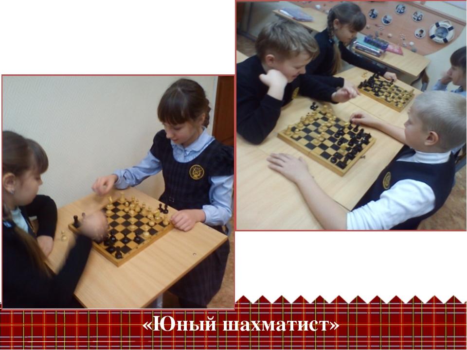 «Юный шахматист»