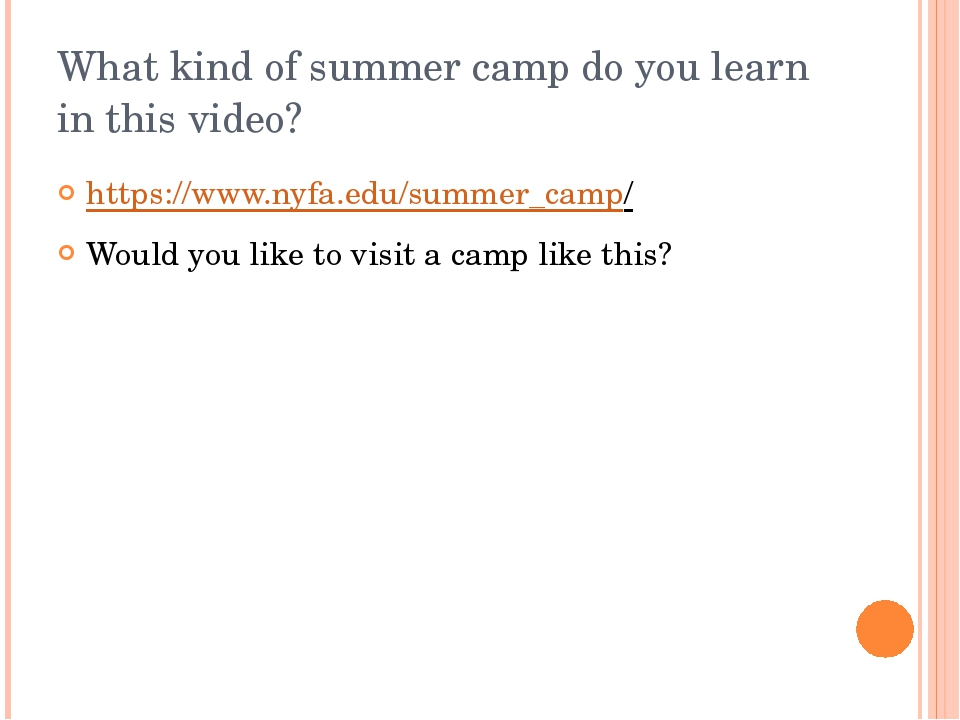 What kind of summer camp do you learn in this video? https://www.nyfa.edu/sum...
