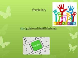 Vocabulary http://quizlet.com/71940987/flashcards