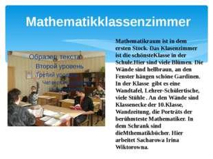 Mathematikklassenzimmer
