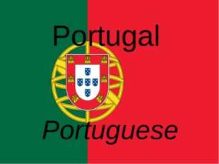 Portugal Portuguese