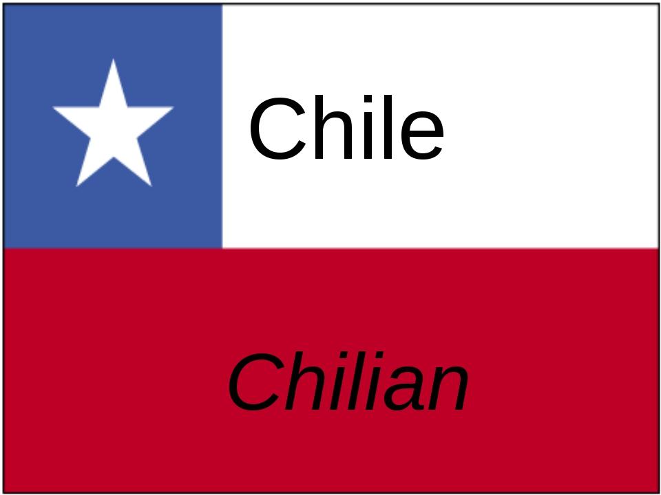 Chile Chilian