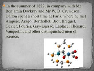 In the summer of 1822, in company with Mr Benjamin Dockray and Mr W. D. Crewd