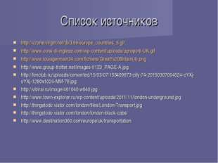 Список источников http://vzone.virgin.net/dvd.99/europe_countries_5.gif http: