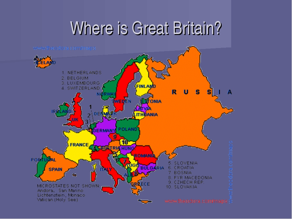 Where is Great Britain?