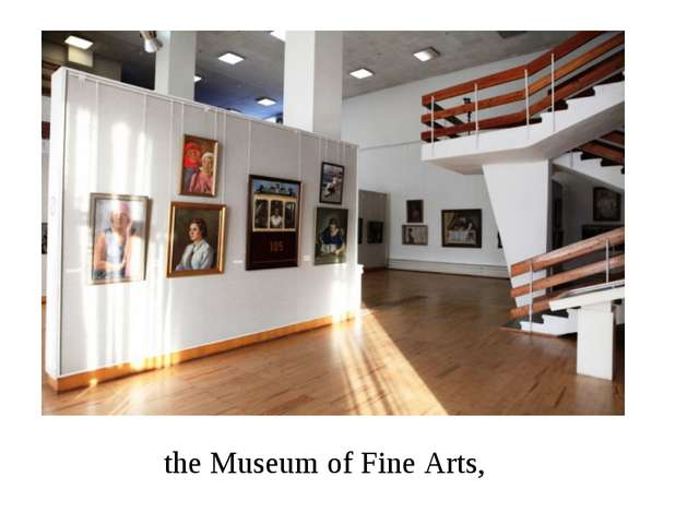 the Museum of Fine Arts,