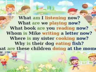 What am I listening now? What are we playing now? What book are you reading n