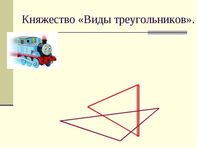Княжество «Виды треугольников».