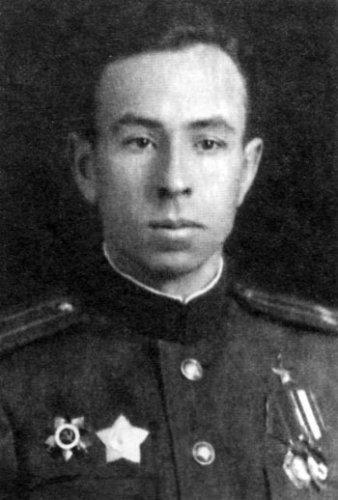 М. Г. Манакин. Фотография 1943 года.