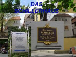 DAS SCHILLERHAUS