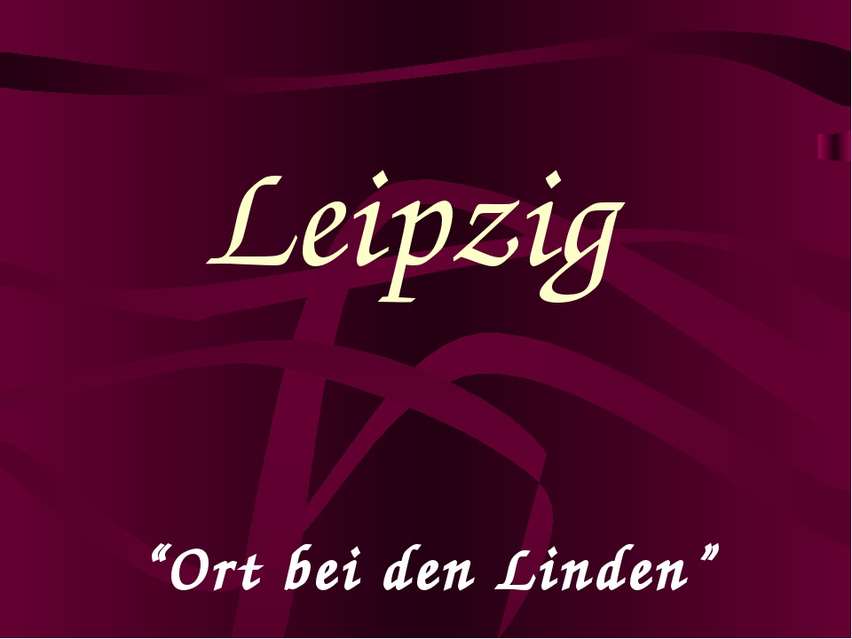"""Ort bei den Linden"" Leipzig"