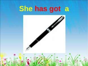 She has got a