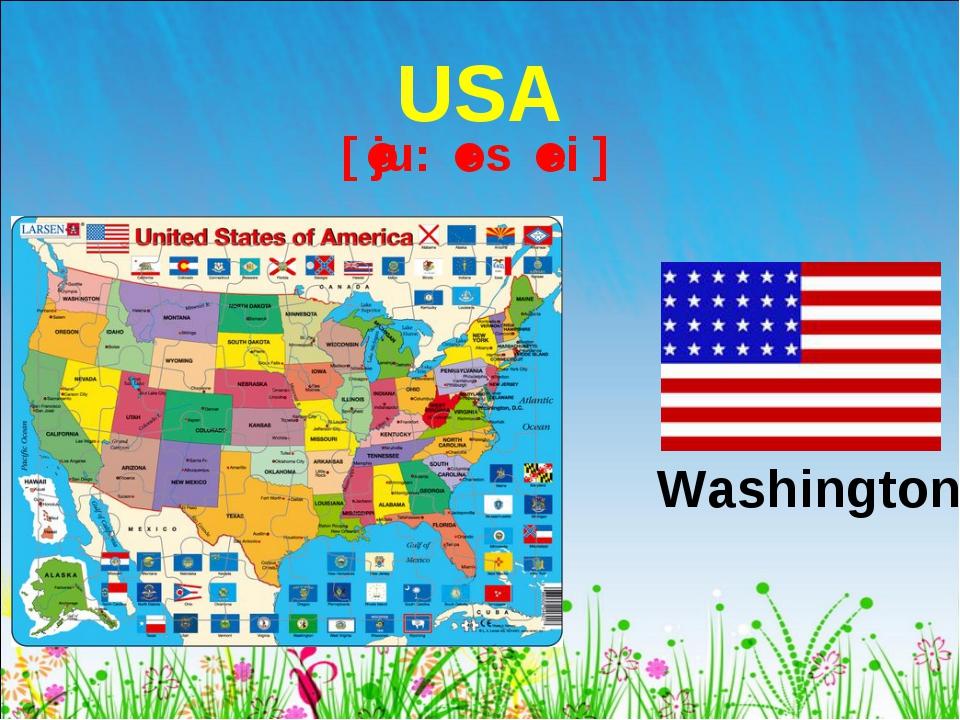 USA Washington [ˈju: ˈes ˈei ]