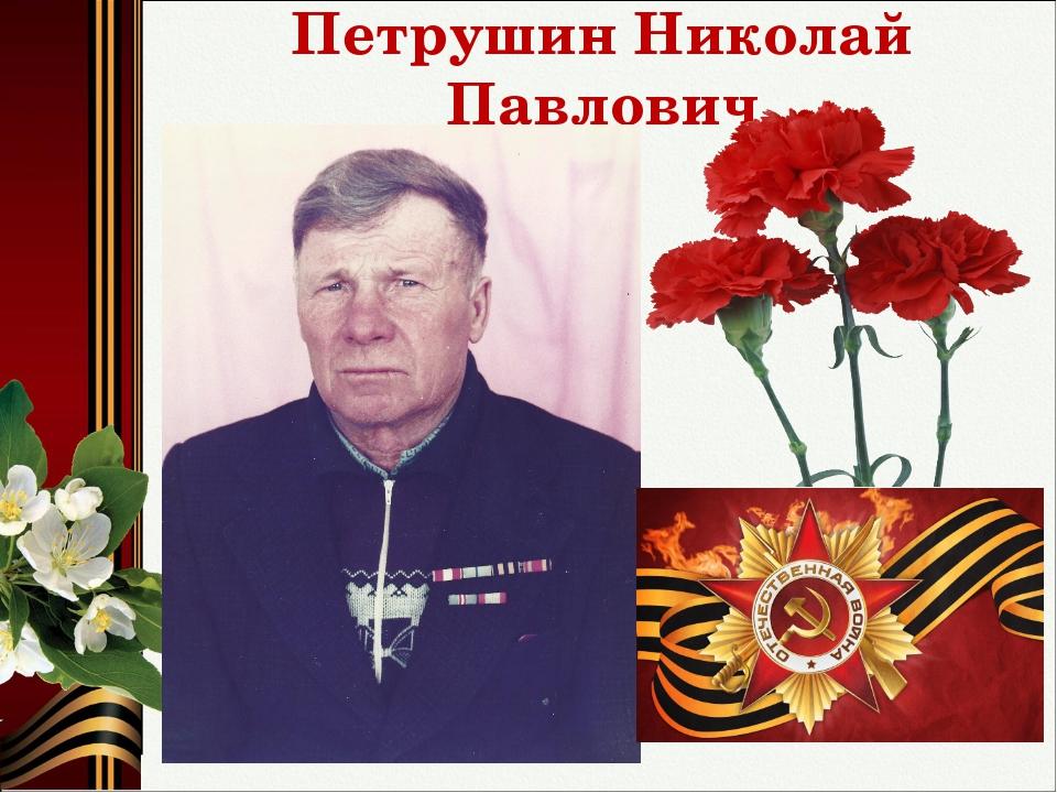 Петрушин Николай Павлович
