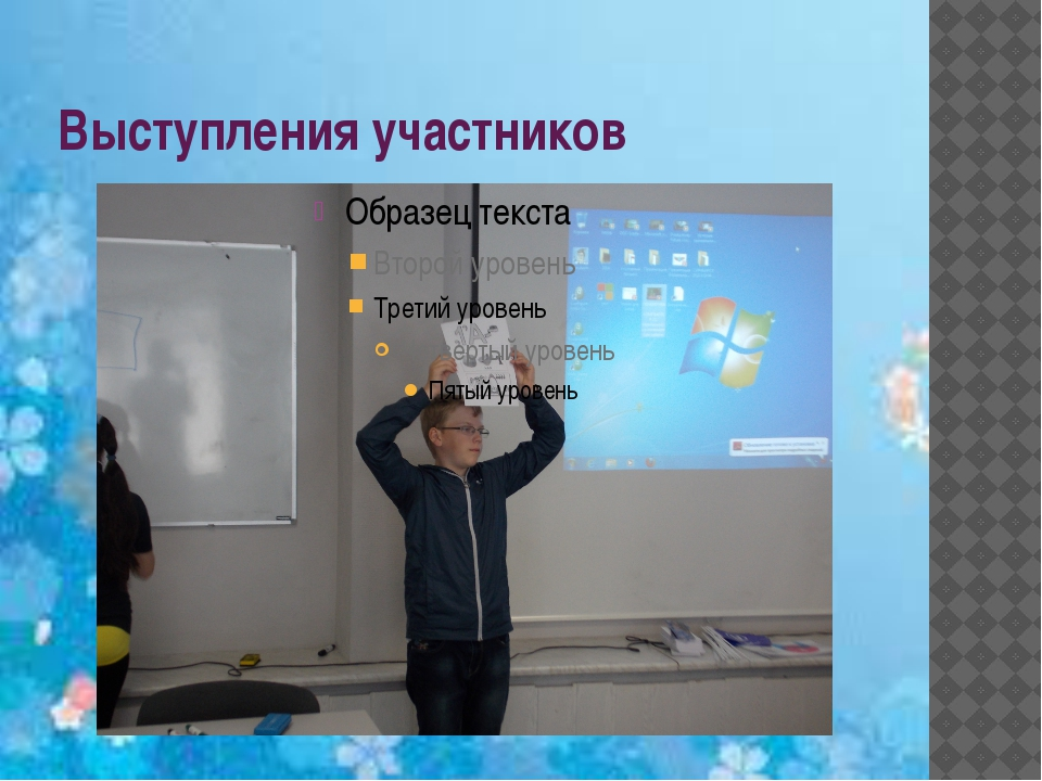 Выступления участников
