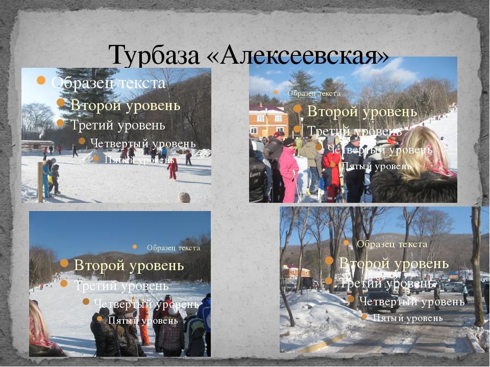 Турбаза «Алексеевская»