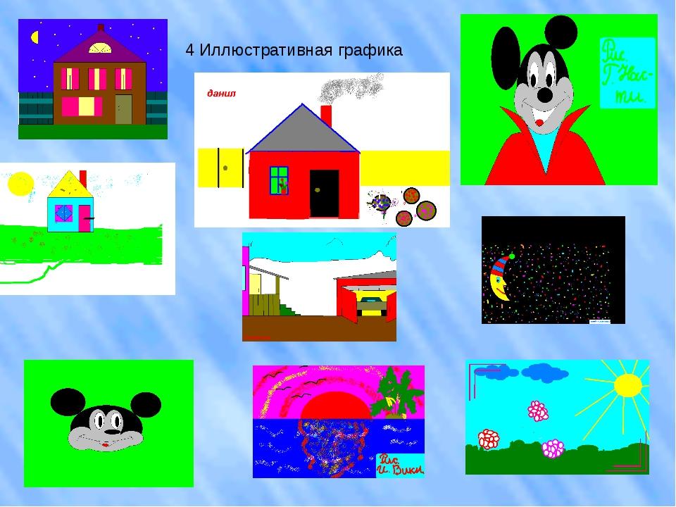 4 Иллюстративная графика