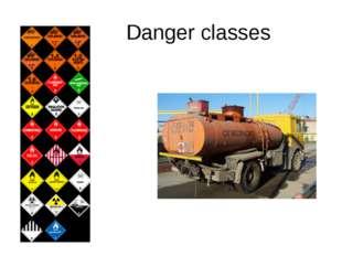 Danger classes