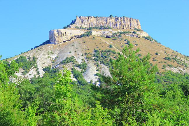 Пещерный городище Тепе-Кермен
