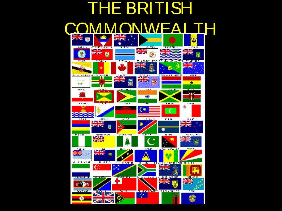 THE BRITISH COMMONWEALTH
