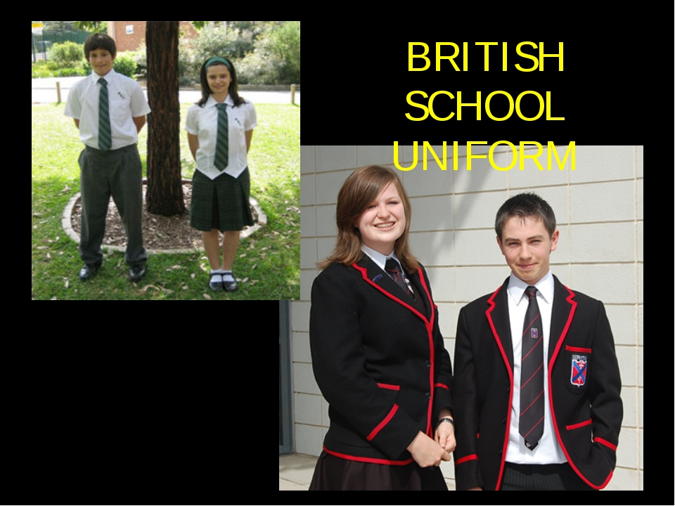 BRITISH SCHOOL UNIFORM