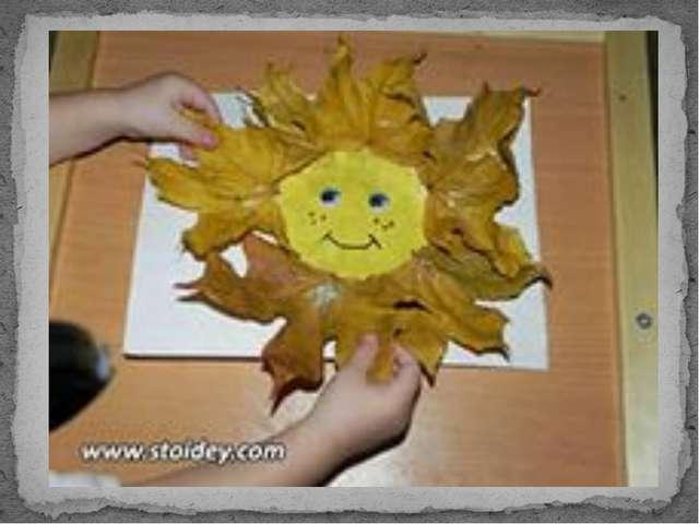 Поделки своими руками фото осень