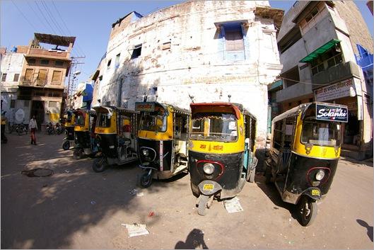 Tuktuks in India