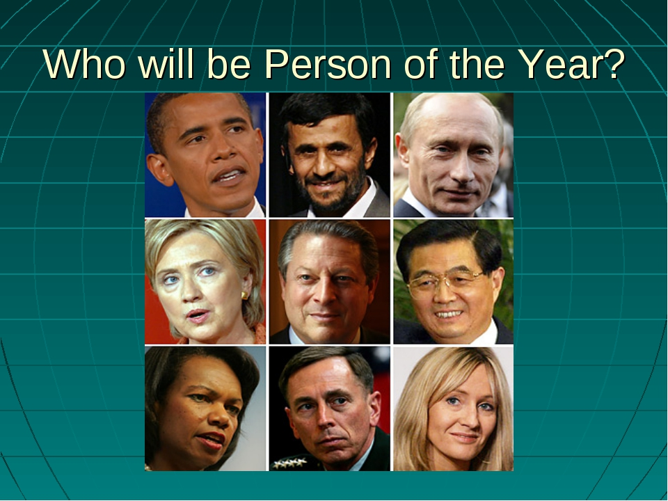 Who will be Person of the Year?